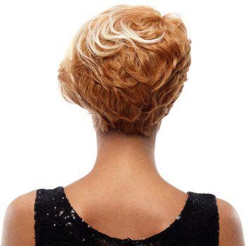 Synthetic Hair Blonde Wig Short Pixie Cut Straight 8 Inch RC0675 - BLONDE 8INCH