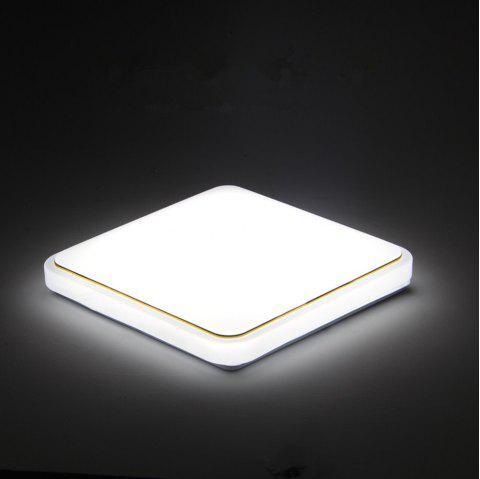 18 Watts Modern Simplified LED Square Suction Dome Light 22 x 22 CM - WHITE LIGHT