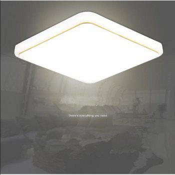 18 Watts Modern Simplified LED Square Suction Dome Light 22 x 22 CM - WARM WHITE