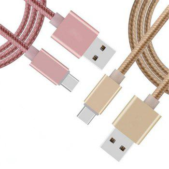 Quick Knitting Cable for type-c - SILVER