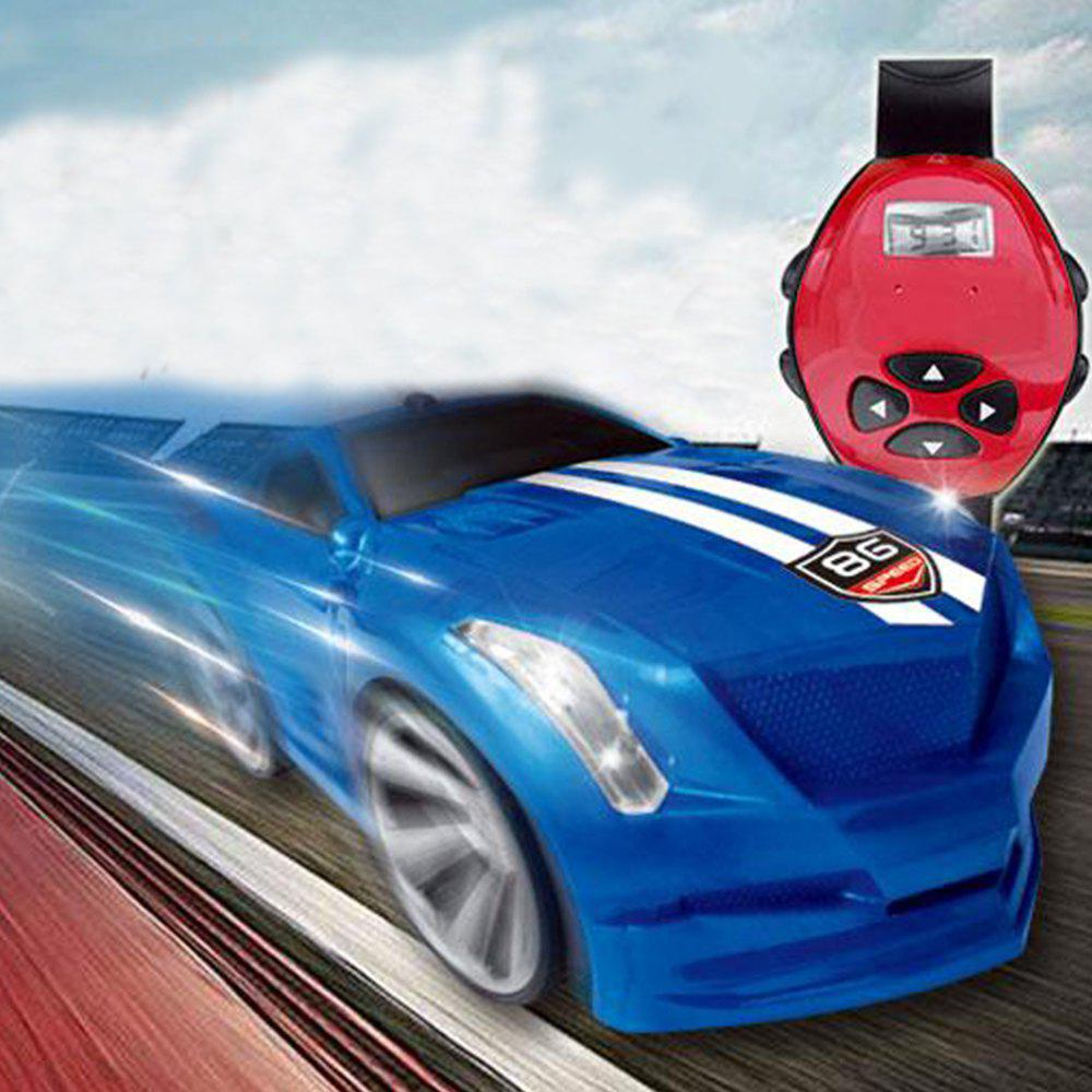 Watch Magic Car Electric Toys - BLUE