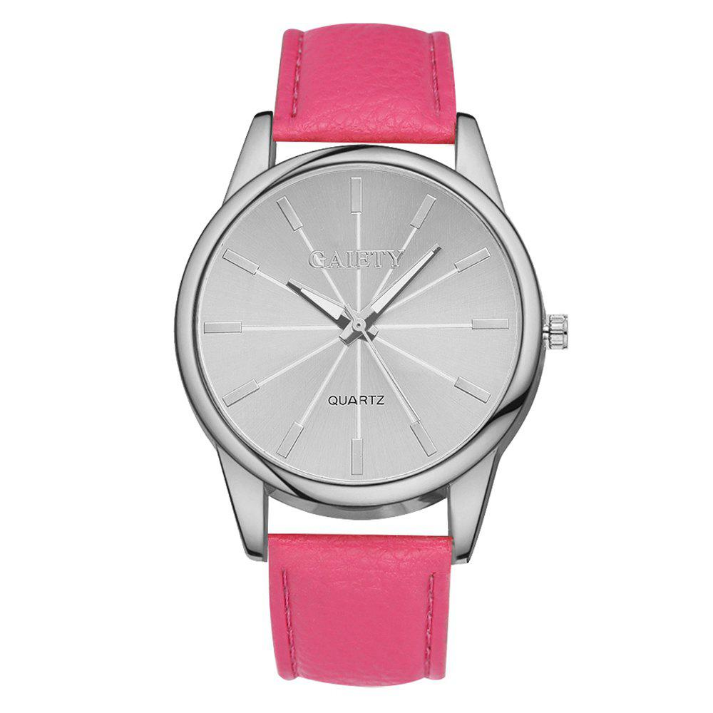 G125 Ladies Fashion Watch - ROSE RED