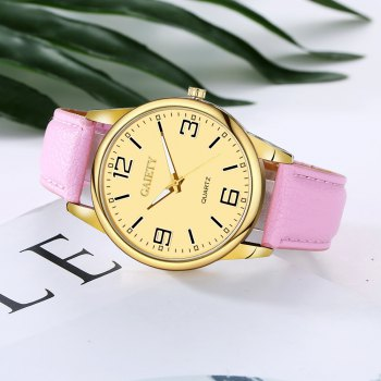 GAIETY G135 Ladies Fashion Leather Watch - PINK