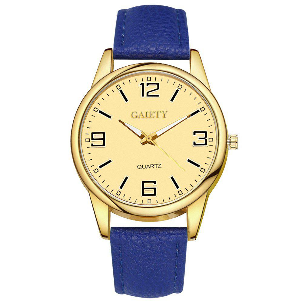 GAIETY G135 Ladies Fashion Leather Watch - BLUE