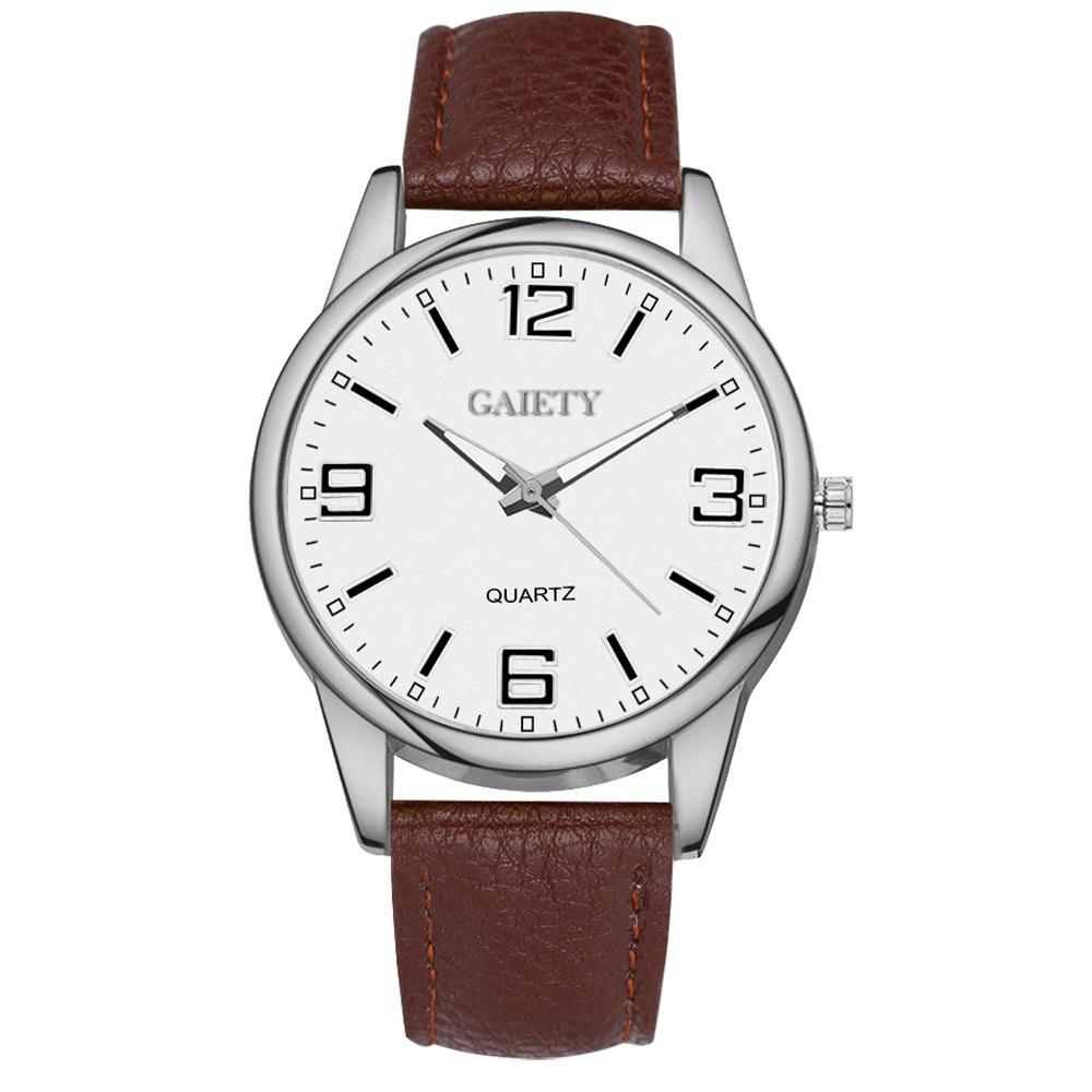 GAIETY G137 Ladies Fashion Leather Watch - BROWN
