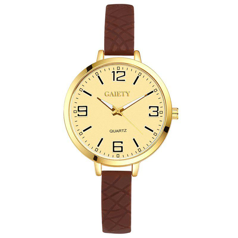GAIETY G297 Ladies Casual Analog Quartz Silicone Watch двухкамерный холодильник don r 297 g