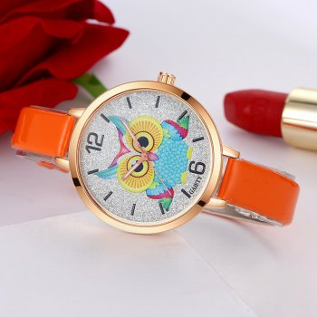 GAIETY G171 Women Fashion Luxury Classic Watch Lady - ORANGE
