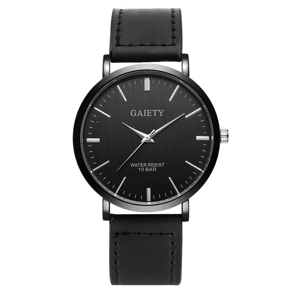 GAIETY G459 Men's Fashion Watch - BLACK