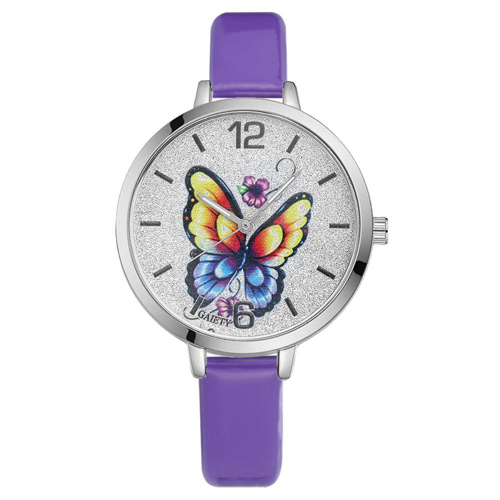 GAIETY G184 Women Fashion Luxury Classic Casual Watches Female Lady Watch - PURPLE