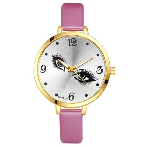 GAIETY G185 Women Fashion Luxury Classic Casual Watches Female Lady Watch - PINK