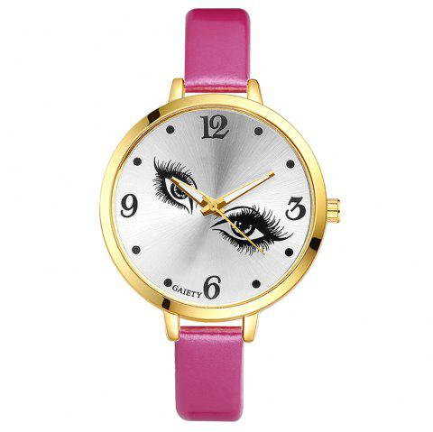 GAIETY G185 Women Fashion Luxury Classic Casual Watches Female Lady Watch - ROSE RED