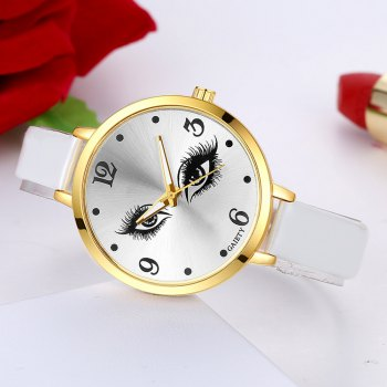 GAIETY G185 Women Fashion Luxury Classic Casual Watches Female Lady Watch - WHITE