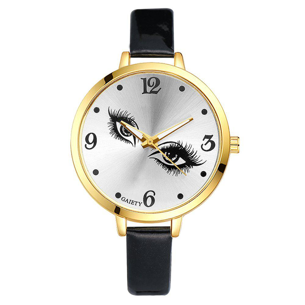 GAIETY G185 Women Fashion Luxury Classic Casual Watches Female Lady Watch - BLACK