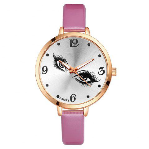 GAIETY G186 Women Fashion Luxury Classic Casual Watches Female Lady Watch - PINK