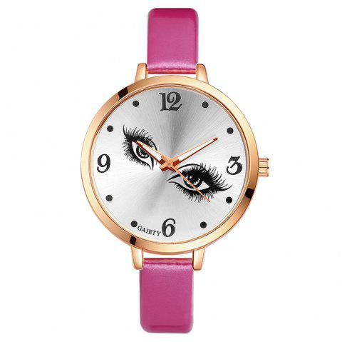 GAIETY G186 Women Fashion Luxury Classic Casual Watches Female Lady Watch - ROSE RED