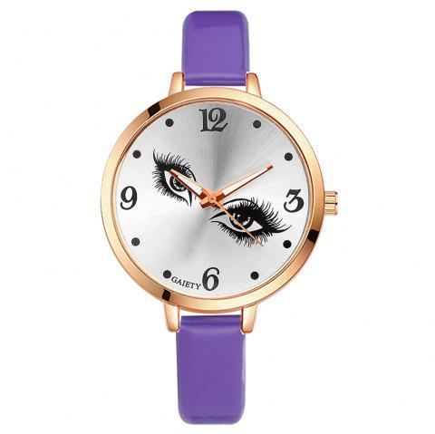 GAIETY G186 Women Fashion Luxury Classic Casual Watches Female Lady Watch - PURPLE