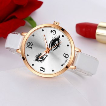 GAIETY G186 Women Fashion Luxury Classic Casual Watches Female Lady Watch - WHITE