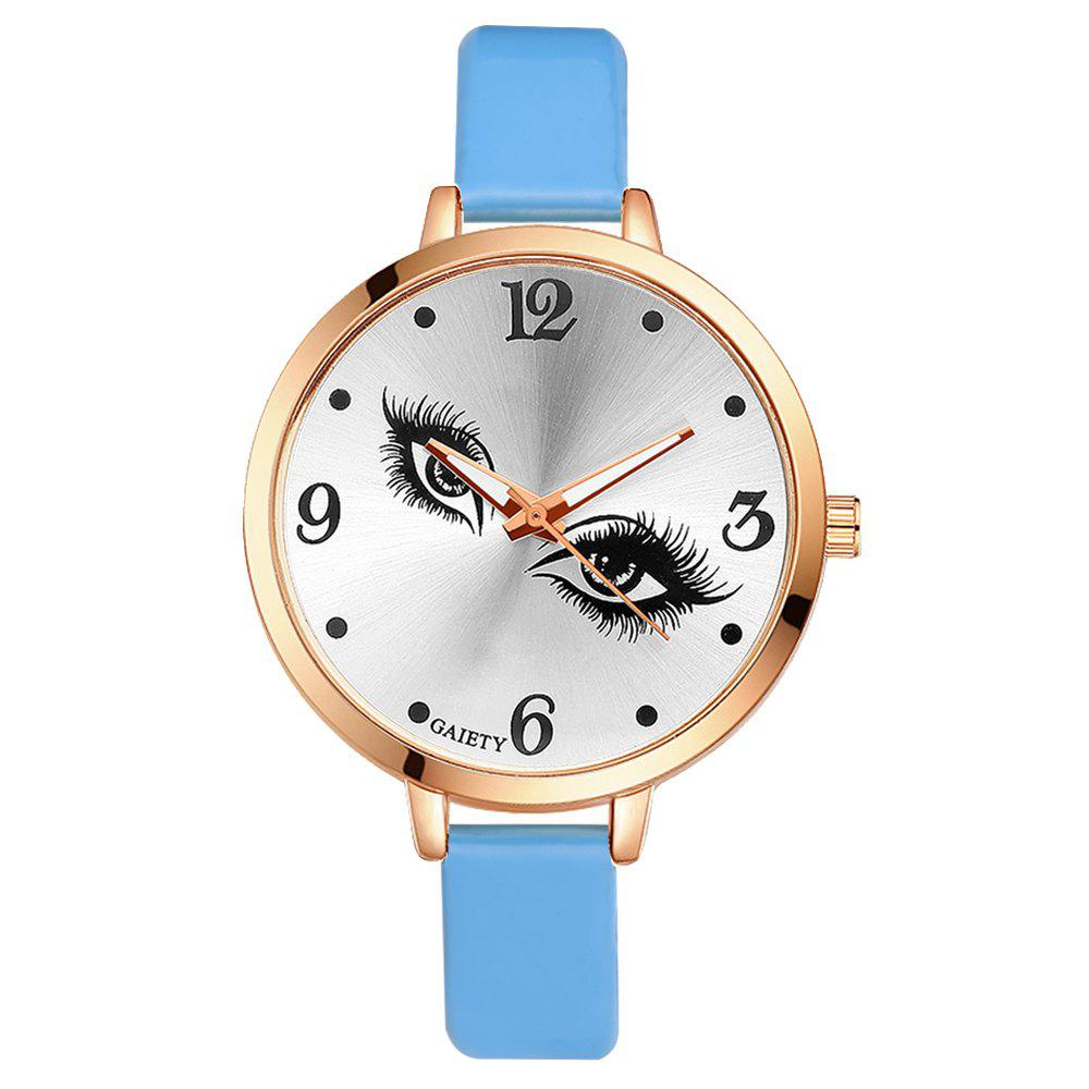 GAIETY G186 Women Fashion Luxury Classic Casual Watches Female Lady Watch - SKY BLUE