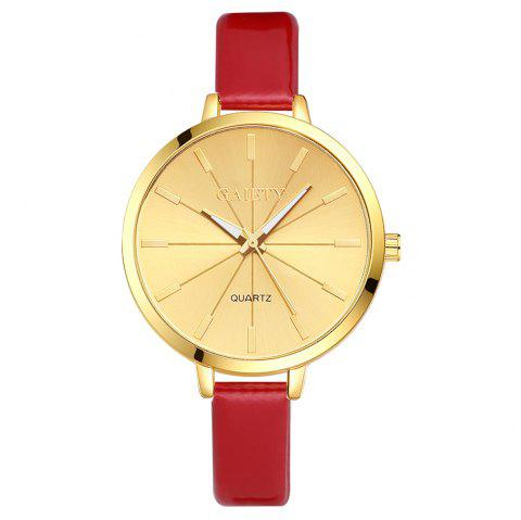 GAIETY G188 Women Fashion Luxury Classic Casual Watches Female Lady Watch - RED
