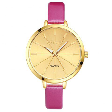 GAIETY G188 Women Fashion Luxury Classic Casual Watches Female Lady Watch - ROSE RED