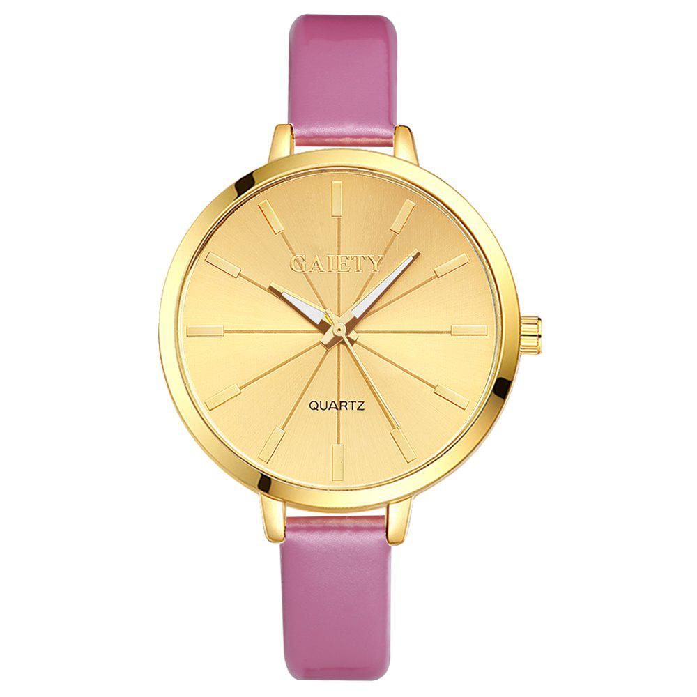 GAIETY G188 Women Fashion Luxury Classic Casual Watches Female Lady Watch - PINK