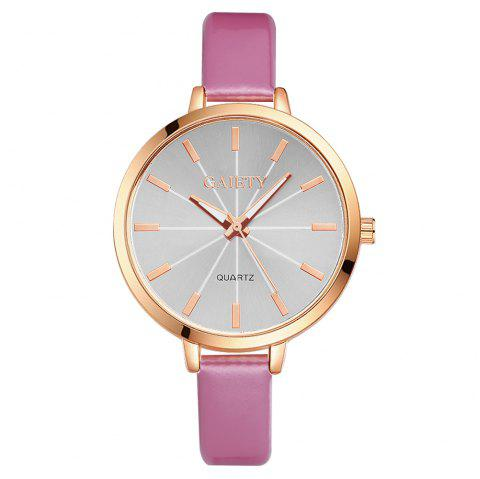 GAIETY G189 Women Fashion Luxury Classic Casual Watches Female Lady Watch - PINK