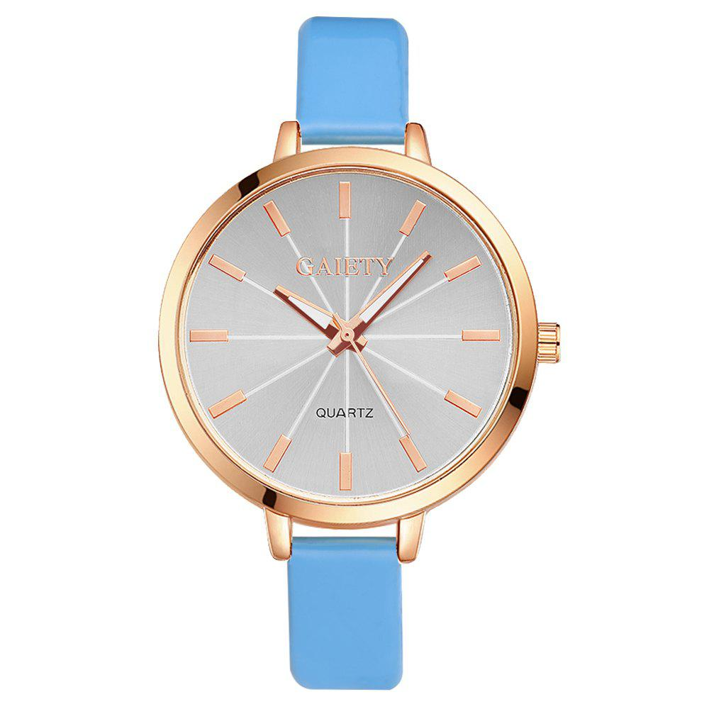 GAIETY G189 Women Fashion Luxury Classic Casual Watches Female Lady Watch - SKY BLUE