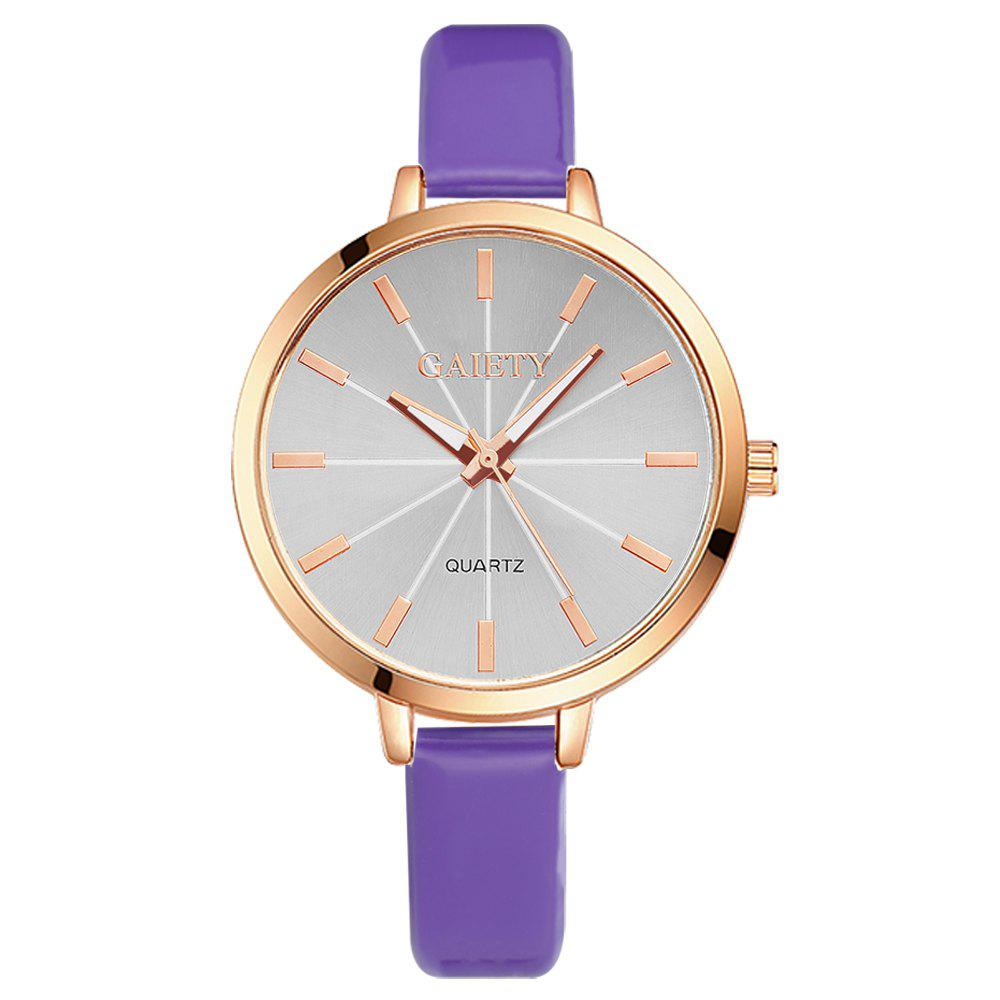 GAIETY G189 Women Fashion Luxury Classic Casual Watches Female Lady Watch - PURPLE