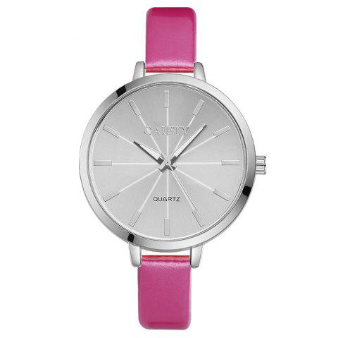 GAIETY G190 Women Fashion Luxury Classic Casual Watches Female Lady Watch - ROSE RED
