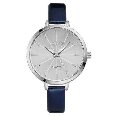 GAIETY G190 Women Fashion Luxury Classic Casual Watches Female Lady Watch - BLUE