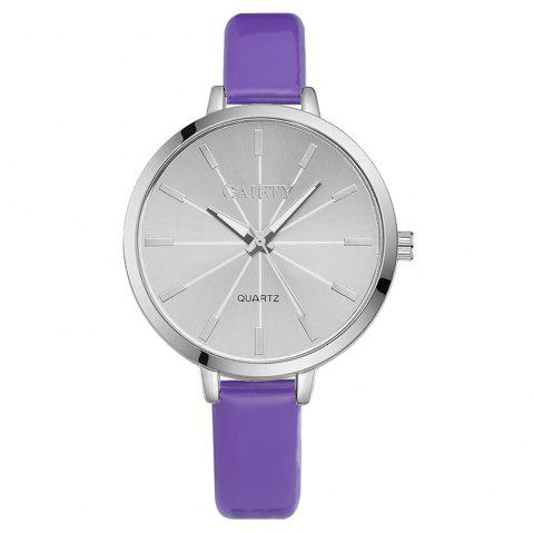 GAIETY G190 Women Fashion Luxury Classic Casual Watches Female Lady Watch - PURPLE