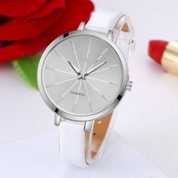 GAIETY G190 Women Fashion Luxury Classic Casual Watches Female Lady Watch - WHITE
