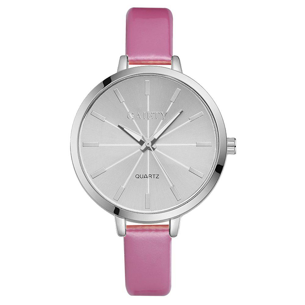 GAIETY G190 Women Fashion Luxury Classic Casual Watches Female Lady Watch - PINK