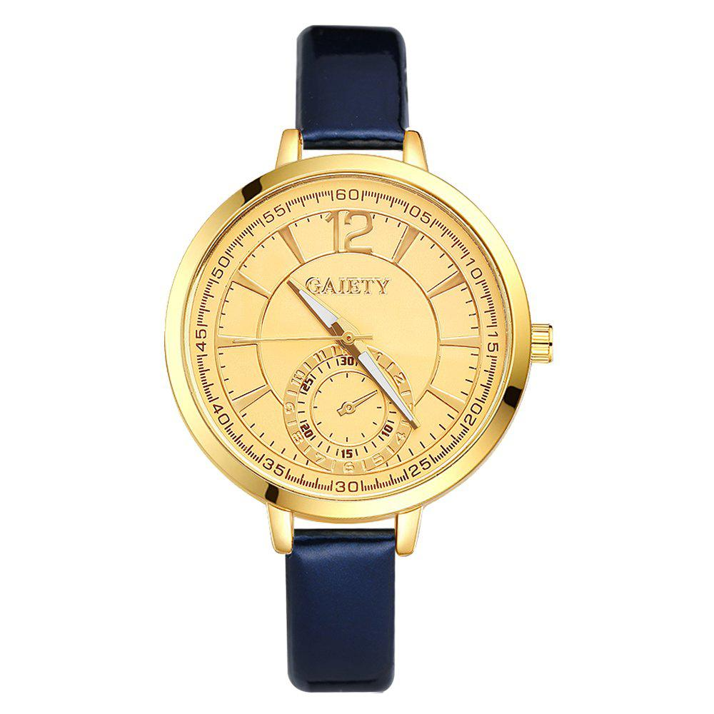 GAIETY G191 Women Fashion Luxury Classic Casual Watches Female Lady Watch - BLUE