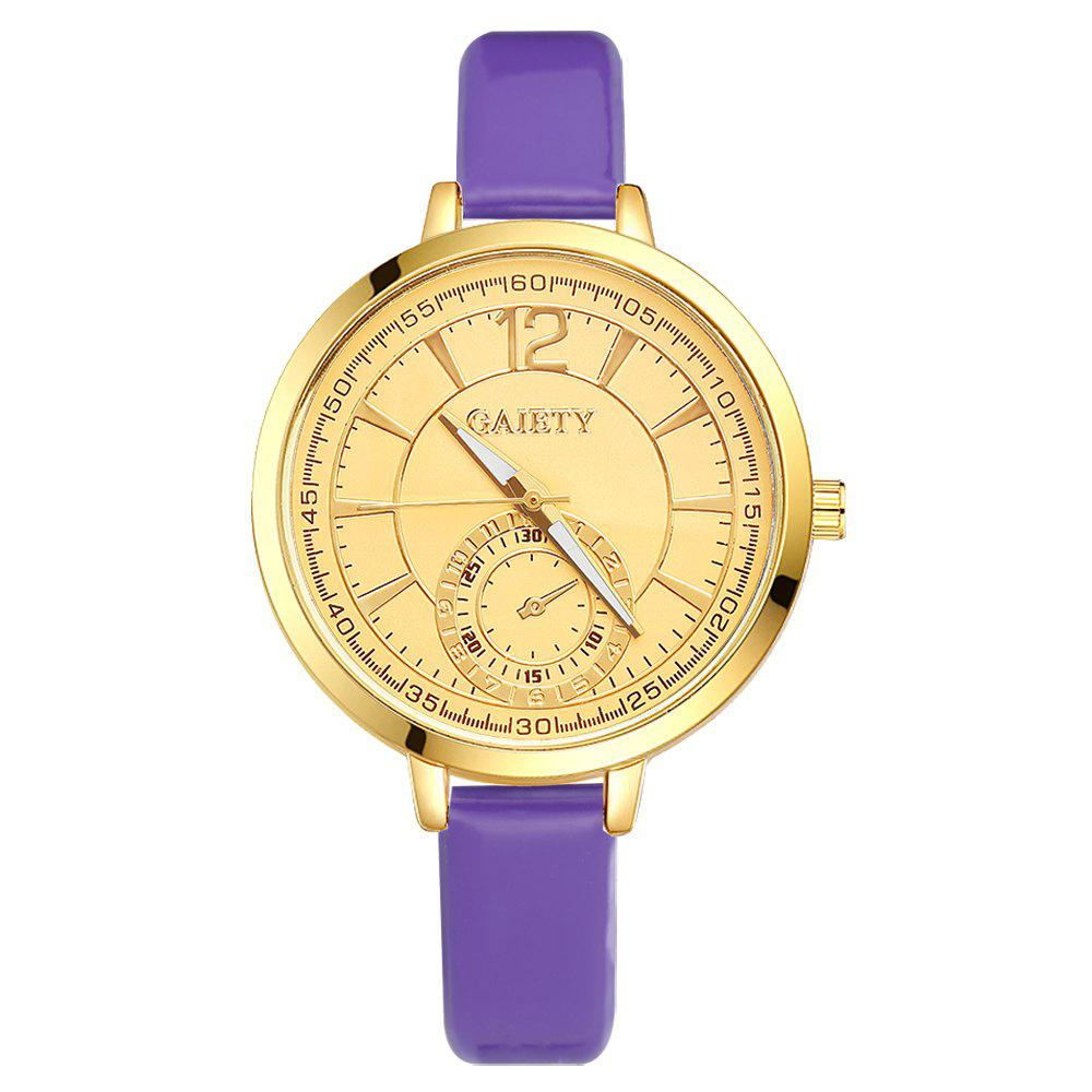 GAIETY G191 Women Fashion Luxury Classic Casual Watches Female Lady Watch - PURPLE