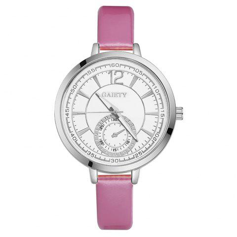 GAIETY G193 Women Fashion Luxury Classic Casual Watches Female Lady Watch - PINK