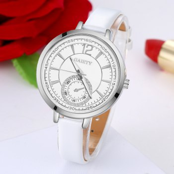 GAIETY G193 Women Fashion Luxury Classic Casual Watches Female Lady Watch - WHITE