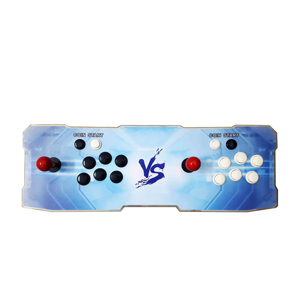 1220 Video Games Arcade Console Machine Double Joystick Pandora's Box Mccxx  VGA HDMI EU Plug 7 - LIGHT BLUE