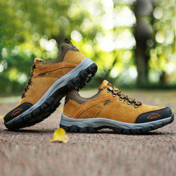 New Wear-Resistant Casual Large Size Hiking Shoes - MAIZE 48