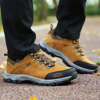 New Wear-Resistant Casual Large Size Hiking Shoes - MAIZE 46