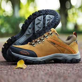 New Wear-Resistant Casual Large Size Hiking Shoes - MAIZE 43