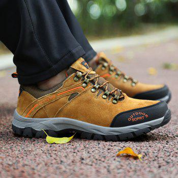 New Wear-Resistant Casual Large Size Hiking Shoes - MAIZE 44