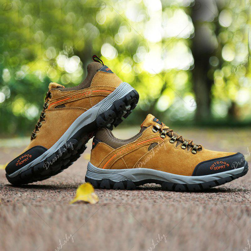 New Wear-Resistant Casual Large Size Hiking Shoes - MAIZE 47