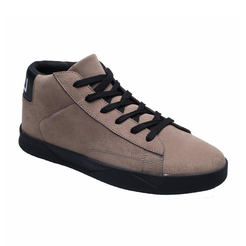 New High-Top Lightweight Shoes - KHAKI 40