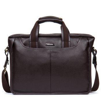 DANJUE High Quality Genuine Leather Men Handbags