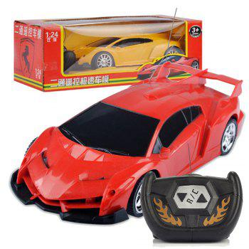 Children Remote Control Electric RC Car 1:24 Model toys - RED RED