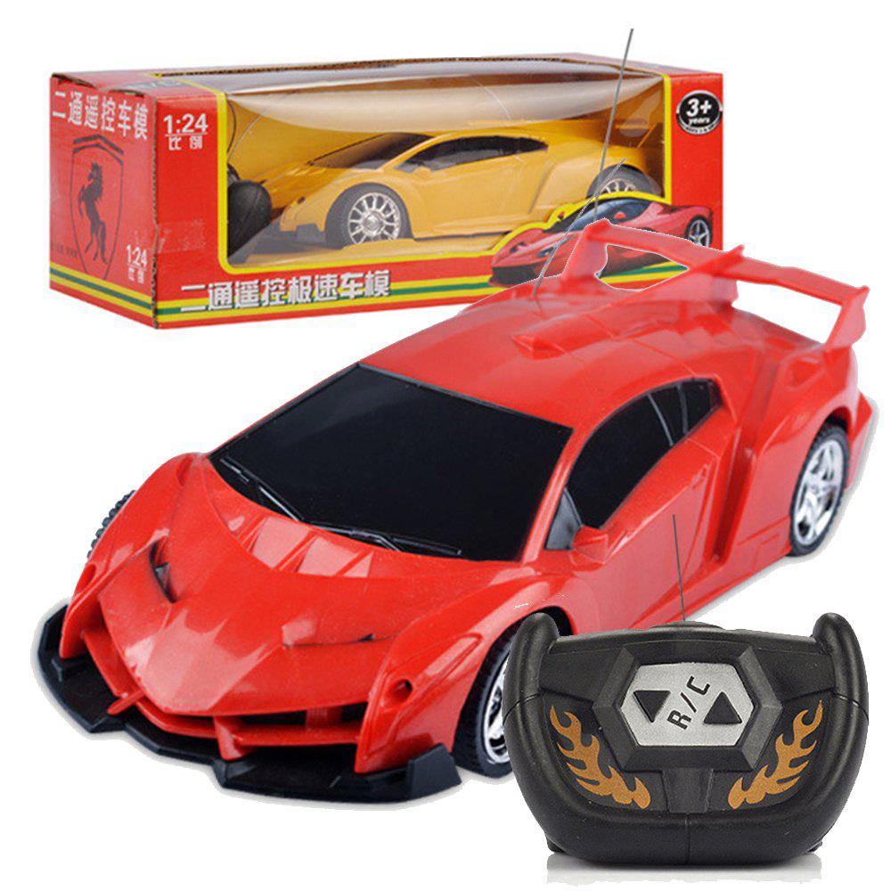 Children Remote Control Electric RC Car 1:24 Model toys - RED