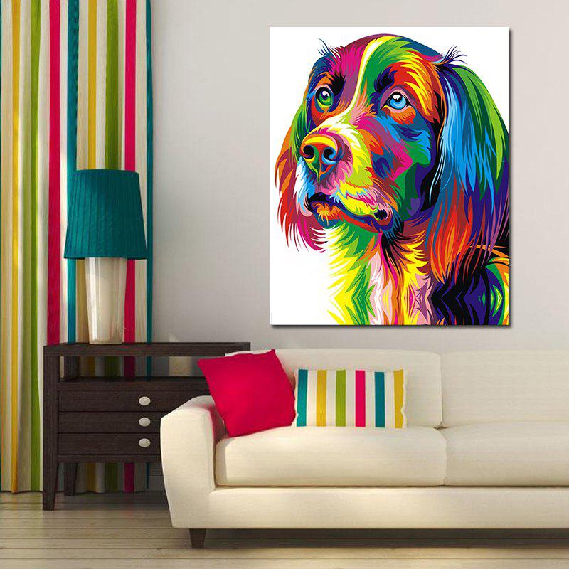 Modern Abstract Canvas Print of Dog Frameless Home Decoration modern instrumentations of pharmaceuticals analysis