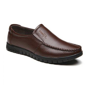 Soft Soles Middle-Aged People Shoes - BROWN BROWN