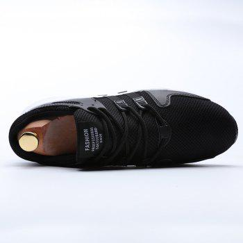 Running Female Couple Student Sneakers Jogging Shoes - BLACK 39